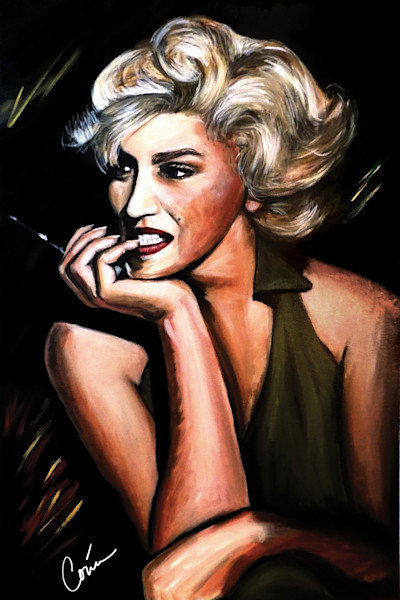 Marilyn-Monroe-art-painting