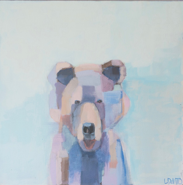 Lesli DeVito original Art Paintings | Animals | Walter | bear