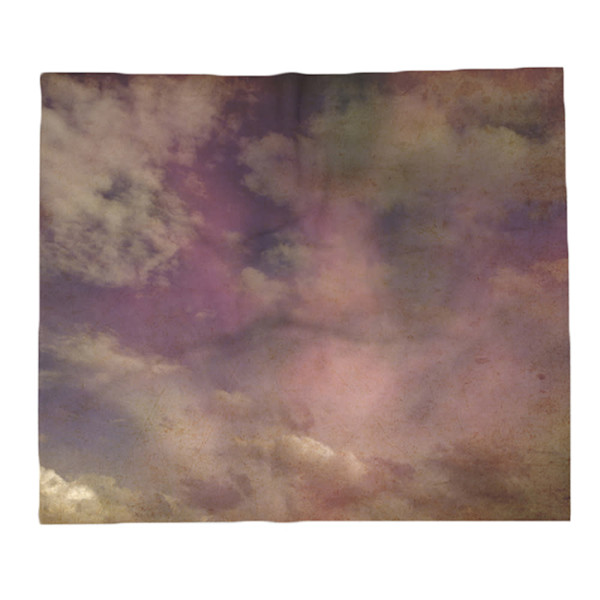 Abstract Clouds Decorative Throw Blanket