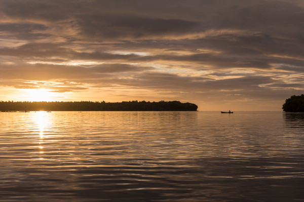 Sunset Reflections, Solomon Islands