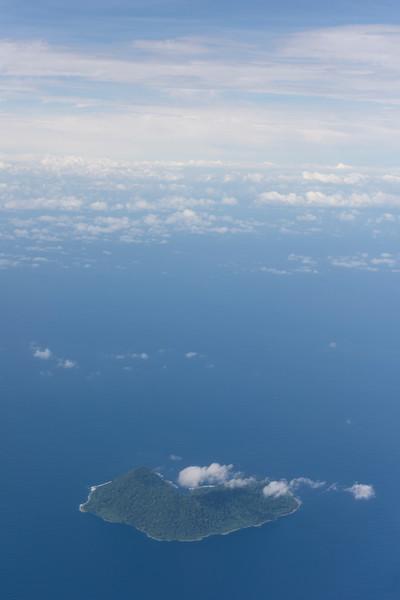 Volcanic Island Aerial,  Solomon Islands