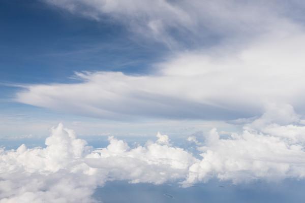 Cloud Formations,  Solomon Islands