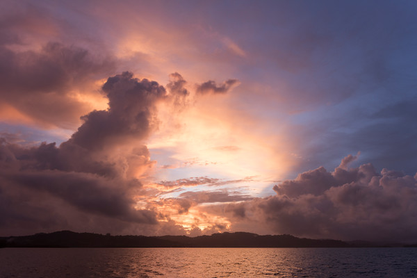 Sunrise, Solomon Islands