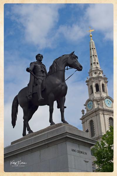 George IV at Trafalgar