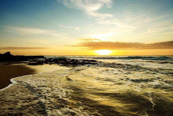 """""""Golden Waves"""" by Karen Edmondson   Prophetics Gallery"""