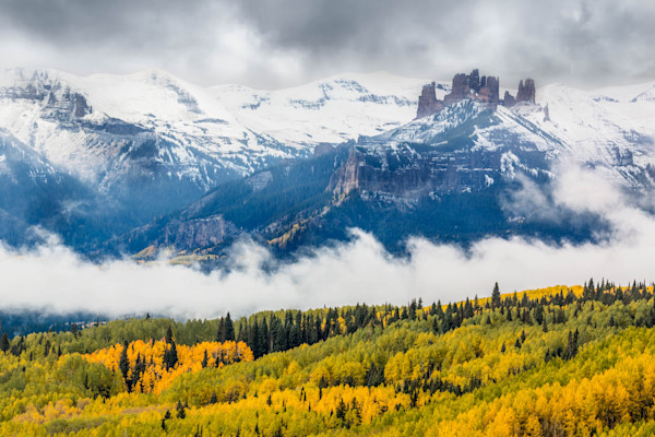 Castle In The Clouds fine art photograph by Mike Jensen