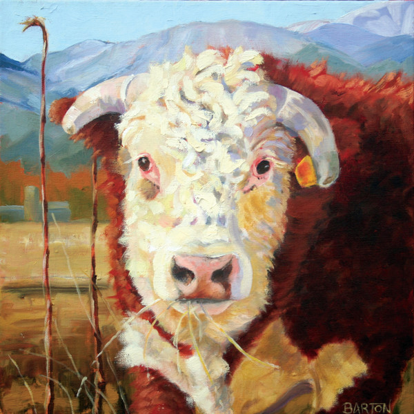 Cows, farm animals, dogs, and pets colorfully painted by Laura Barton. A high quality art print can be yours!