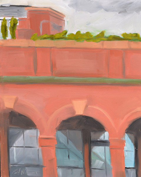 Beacon Hill Arches painting by Paul William | Fine Art for Sale