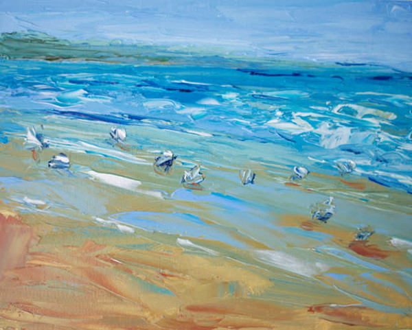 Nahant Beach painting by Paul William | Fine Art for Sale