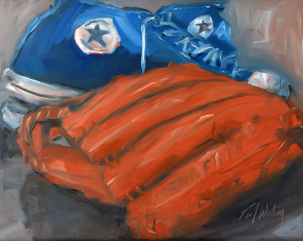 All Star Baseball painting by Paul William | Fine Art for Sale