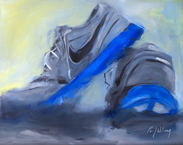 Running Shoes painting by Paul William | Fine Art for Sale