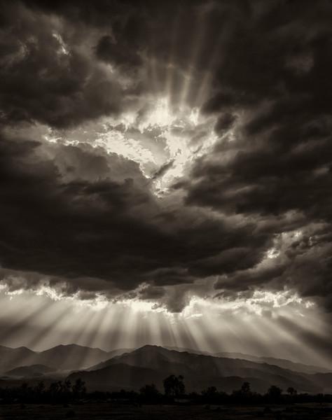 Death Valley God Rays