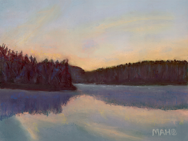 Serenity print by Mary Anne Hill.