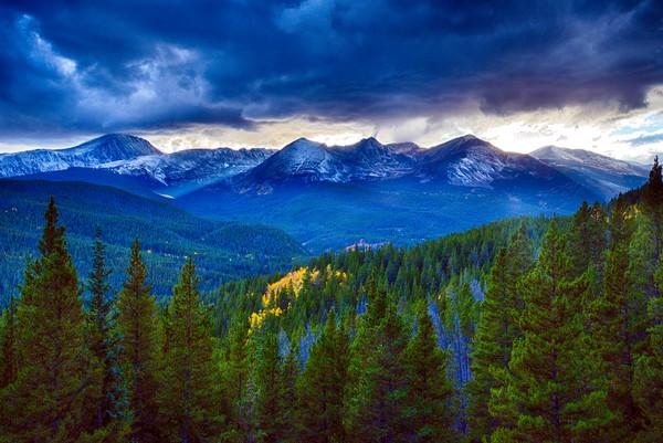 Tenmile Range Sunset