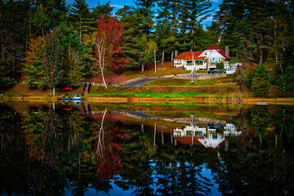 Adirondack Reflection Fine Art Photograph | JustBob Images