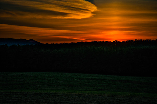 Sunset in Adirondacks Fine Art Photograph | JustBob Images