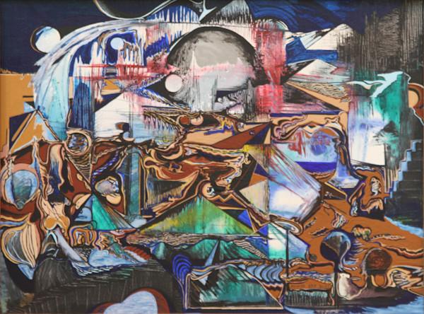 Free jazz abstract art