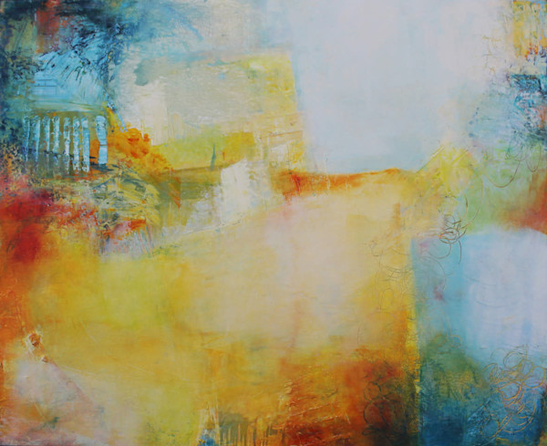 Sunny Sky by Sharon Kirsh | SavvyArt Market original painting