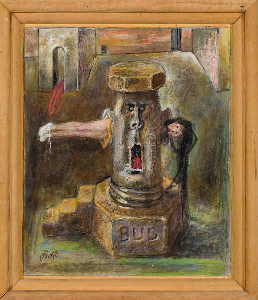 Old Pump Handle Original art by artist Guy Danella