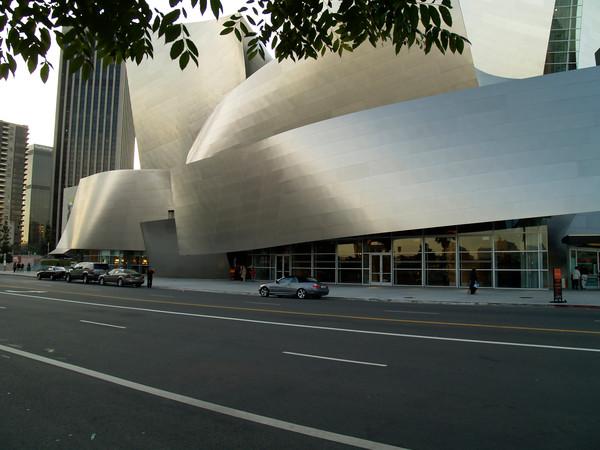 Disney Music Hall on Bunker Hill, 1