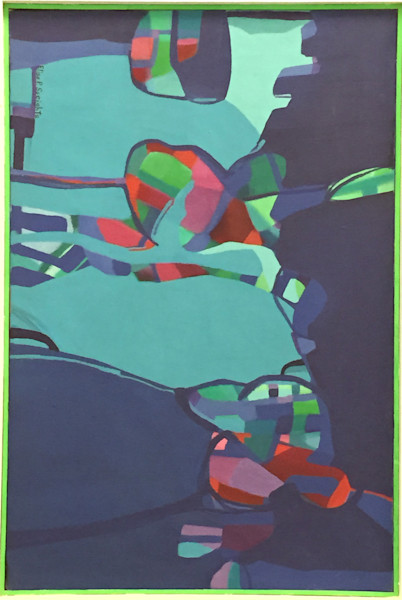 Abstract Expressionist original paintings - fine art prints on canvas, paper, metal and more for sale by Guy Danella.