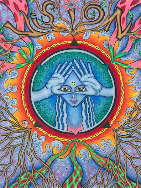 vision, symbolic art, art by adelaide