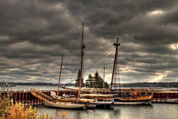 boats, ships, schooners, dock, traverse-city-michigan