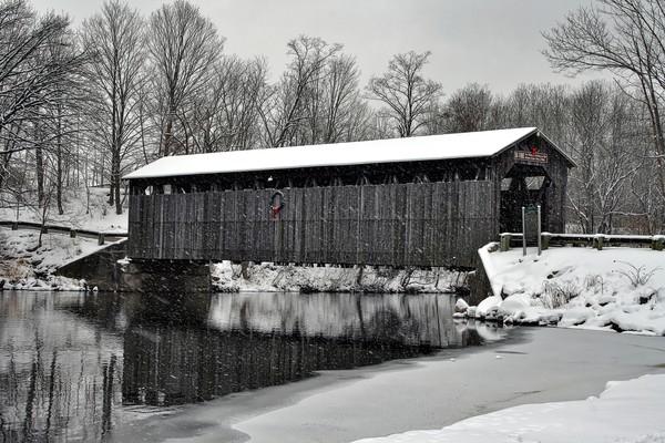 flat-river, covered-bridge, fallasburg-park, lowell-michigan