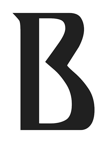 Ariosto Letter B Art For Sale