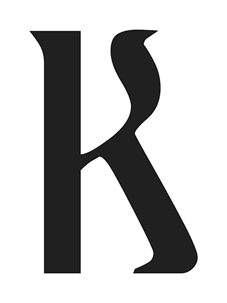 Ariosto Letter K Art For Sale
