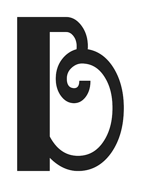Boogie Nights Letter B Art For Sale