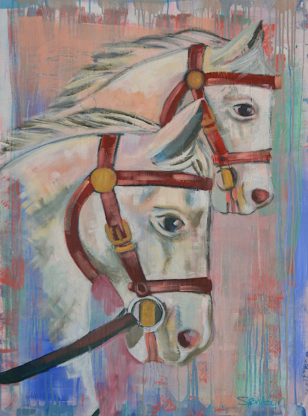 Horse Fine Art Original Paintings & Prints by Steph Fonteyn