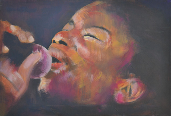 Jazz Art by Portrait Artist Steph Fonteyn