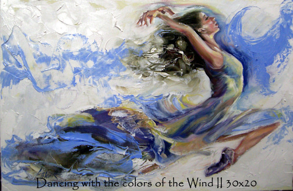 Dancing with the Colors of Wind