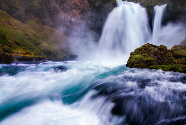 Sahalie Falls, Central Oregon
