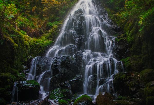 Fairy Falls, Columbia Gorge Oregon