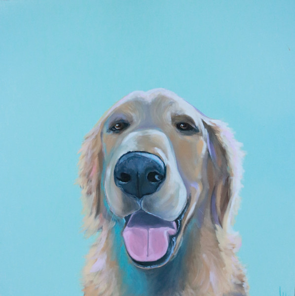 shop lesli devito original paintings prints dogs in color