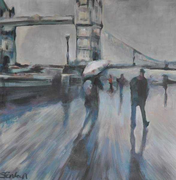 Original Paintings of Urban Landscapes by Steph Fonteyn