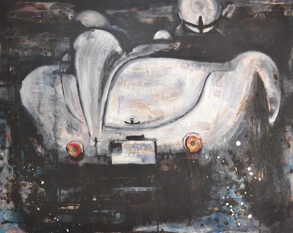 Veritas Racing Car Art by Steph Fonteyn