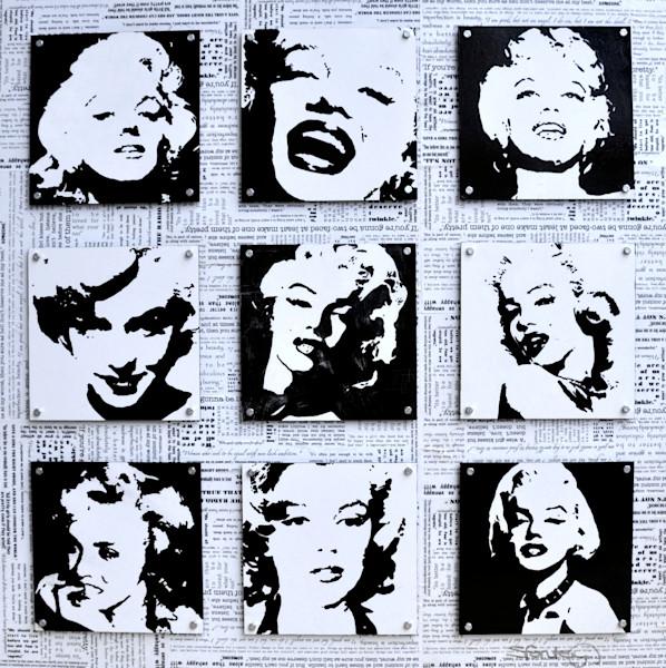 Monroe Mosaic by Steph Fonteyn