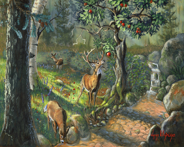 Wildlife art paintings and prints