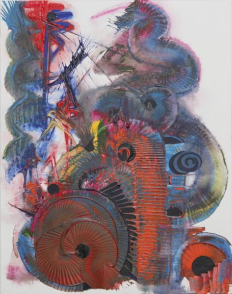 Spiralled texture artwork Treble Clef