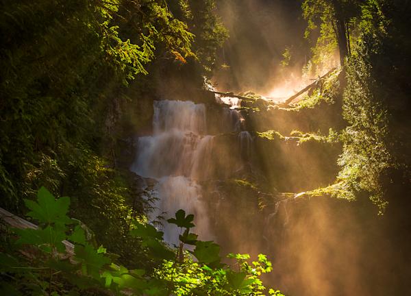 Tangerine Falls, Three Sisters Wilderness Oregon