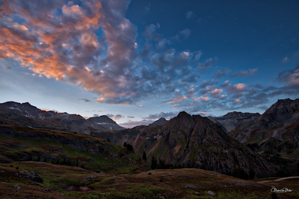 Markus Van Meter's Summerscapes-Sangre Di Cristo Over Governor's Basin