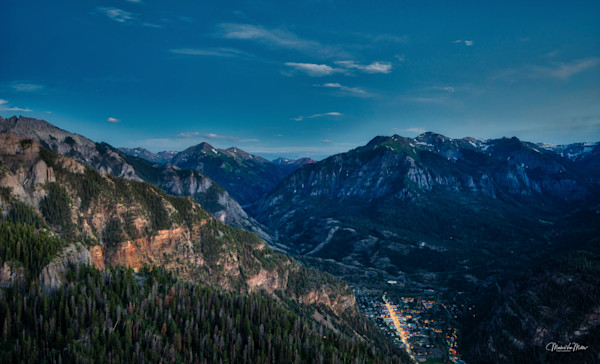 Markus Van Meter's Ouray Collection-Ouray Mid Summer's Night