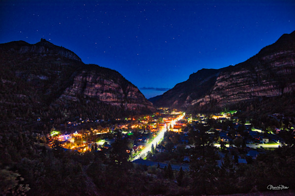 Markus Van Meter's Ouray Collection-Ouray At First Light