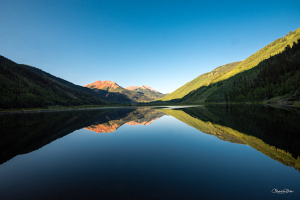 Markus Van Meter's Mountain Lakes Collection-Reflections of Red Mountain