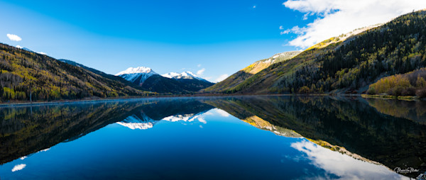 Markus Van Meter's Mountain Lakes Collection-Fall Reflections of Red Mountain