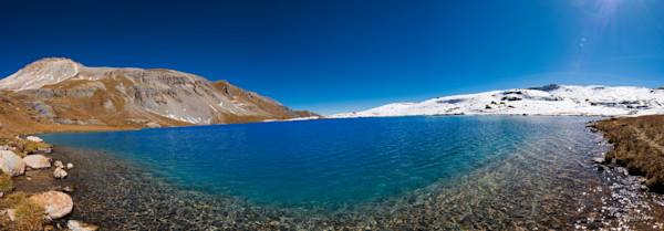 Markus Van Meter's Mountain Lakes Collection-Ice Lake in October