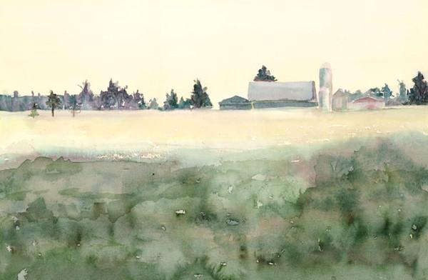 Flintville mist print by Gayle Brunner.
